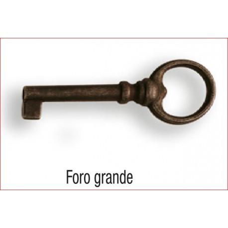 CHIAVE MOBILI FORO GRANDE FERRO VECCHIO 90MM