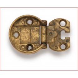 Cerniera Incasso Diametro 35mm Ottone Anticato