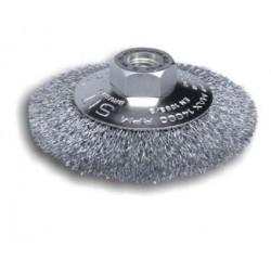 Spazzola Circolare Conica Per Smerigliatrice 230