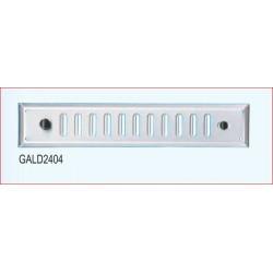 Griglia Areazione Alluminio C/dosatore 70x240mm