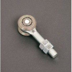 Carrello Zincato 2 Ruote Diametro 54mm Fisso