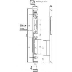 Incontro Scrocco-catenaccio Per Sicurtop A12
