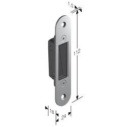 Gaccia Per Serratura Magnetica S950 Ottone Lucido