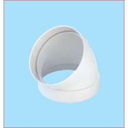 Curva 45° Per Tubo Tondo D100mm Plastica