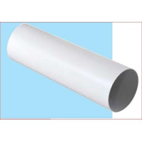 TUBO ASPIRAZIONE DIAMETRO 100MM 1,5MT PLASTICA