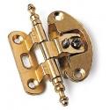 Cerniera Art254 Bronzata + Base 2 Regolazioni