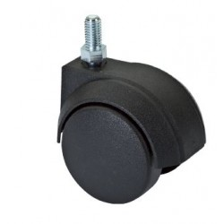 Ruota Plastica Diametro 50mm Perno 11x20 Piantare