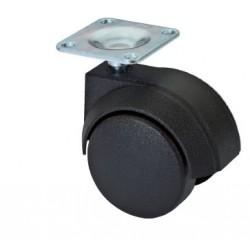 Ruota Plastica Diametro 50mm Su Piastra 36x36