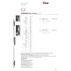 Serratura Multipunto Easy Entrata 35mm Destra