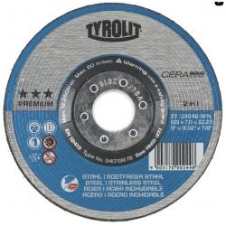 Mola Disco Sbavo Diametro115x7 Cera Bond
