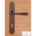 Maniglia Ferro Su Placca 8x70 Senza Molla
