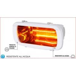 STUFA INFRAROSSI SOLE BIANCO 1300W