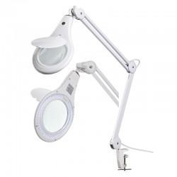 LAMPADA CON LENTE 48 LED DA SCRIVANIA